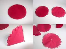 Make Flower With Paper - make tissue paper flowers
