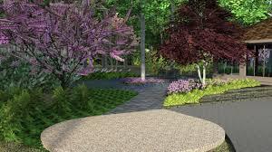 shady kalamazoo yard gets designed u0026 landscaped u2013 r u0026a water