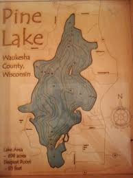 Wisconsin Lakes Map by Waukesha County Lakes Living Lake Country In Wisconsin Real