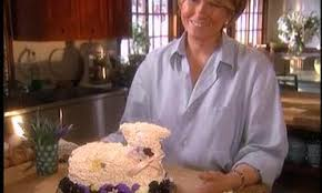 video how to make icing and frost an easter lamb cake martha