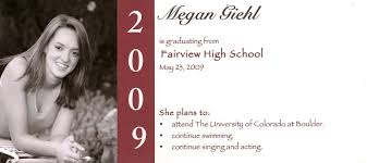 grad announcement wording templates wording for college graduation announcements with honors