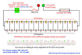 led tube light ac 3 steps