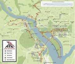 Pentagon Map 42nd Marine Corps Marathon Seymour Pink Inc Charity Partner