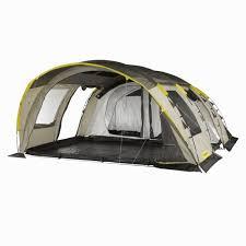 chambre a air pocket cross t6 2 xl air 6 tent family tent grey beige decathlon