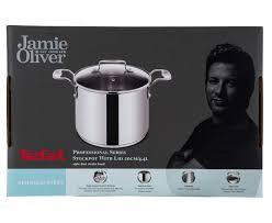 jamie oliver by tefal 4 4l stockpot w glass lid ebay