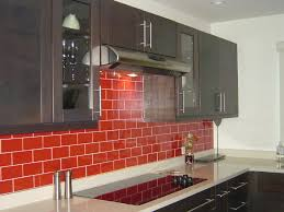 Glass Kitchen Tiles For Backsplash by Red Glass Tile Backsplash Pictures Roselawnlutheran