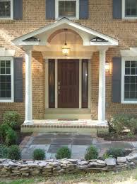 decorations simple modern front porch home exterior design ideas