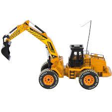 rc excavator tractor digger construction truck remote control