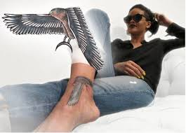 rihanna falcon gun tattooforaweek temporary tattoos largest