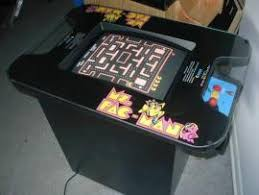 Pacman Game Table by Cost To Ship Ms Pac Man Cocktail Table Video Game From Round
