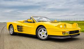 1987 testarossa for sale 1987 testarossa spider to be auctioned by artcurial