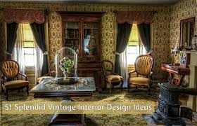interior design cool vintage interior design home decor interior