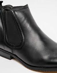 spot new look faux leather chelsea boot men 00188 www