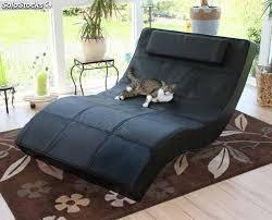 sillon reclinable sillon reclinable de piel negro