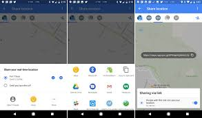 Maps Goo The New Google Maps Location Sharing Can Share Your Location Via Links