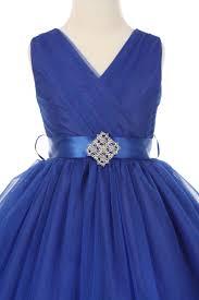 royal blue tulle royal blue tulle flower girl dress classic style