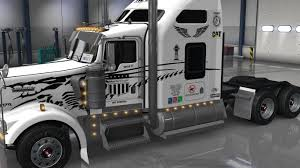 uncle d logistics master craft kenworth w900 skin ats mods