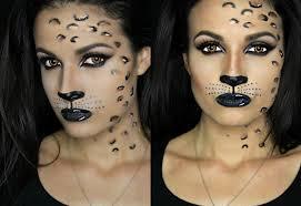 Cheetah Face Makeup For Halloween Leopard Halloween Makeup 2015 Adrilunamakeup Youtube