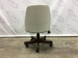 linen desk chair linen desk chair with brass nail heads on casters clarkswgd