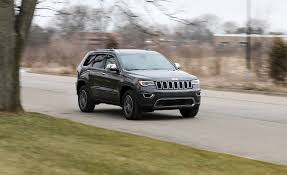 old jeep grand cherokee 2017 jeep grand cherokee review car and driver