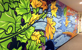 Wall Mural Country Forest Road You Ve Seen His Art All Over Minnesota Now Meet The Real Adam