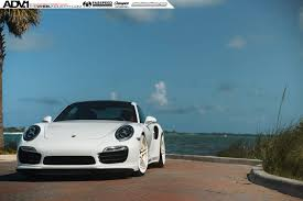 porsche carrera 911 turbo white porsche 911 turbo s adv05 m v2 cs series wheels 21x9 5
