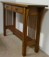 Oak Sofa Table Mission Oak Sofa Table Foter