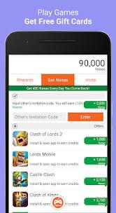 gift cards app appnana free gift cards by appnana rewards 3 app in gift