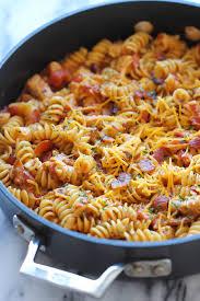 pasta recepies one pot bbq chicken pasta damn delicious