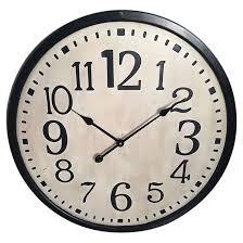 Horloge Murale Ronde Blanche Avec Horloge Murale Ronde 70cm X 4 5cm Blanche Rona