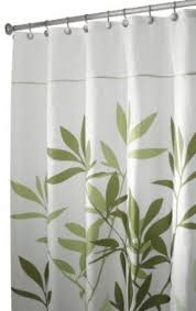 Shower Curtain 36 X 72 Leaves Fabric Shower Curtain Foter