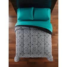 Comforter At Walmart Mainstays Microfiber Bedding Comforter Walmart Com
