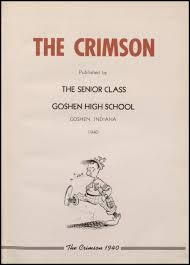 school yearbooks 1909 2012 goshen high school yearbooks access genealogy