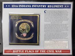 Civil War Battle Flag Lot Detail Willabee U0026 Ward U201cbattle Flags Of The Civil War U201d 13th