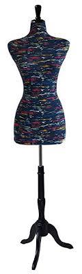 Amazon Female Decorative Dress Form Mannequin Print Fabric