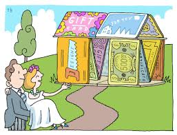 wedding registry money for house passing on wedding gifts millennials prefer the new york times