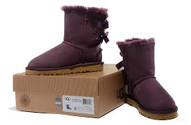 womens ugg boots purple ugg 1003280 limited edition bow bailey boots purple