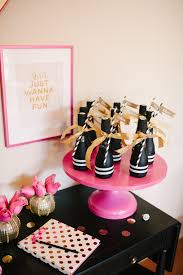 New York Themed Centerpieces by A Chic And Swanky Kate Spade Inspired Dinner Party The Perfect