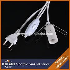 european standard himalayan salt l light cord set including eu