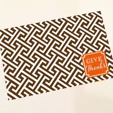 thankful placemats haymarket designs personalized placemats