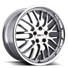 chrome inch corvette wheels corvette rims by cray