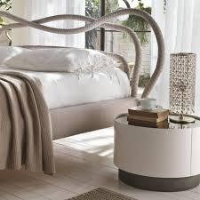 nightstand breathtaking mirto round nightstand with glass top