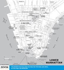 Map Of New York And Manhattan by Printable Travel Maps Of New York Moon Travel Guides
