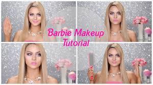 barbie makeup tutorial l christen dominique youtube