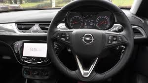 opel corsa 2016 ford fiesta vs opel corsa changing lanes