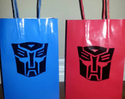transformer party favors transformers party etsy