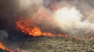 Type 1 Wildfire Definition by Goodwin Fire Has Burned 21 000 Acres State Of Emergency Declared