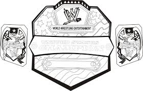 coloring pages wwe
