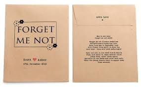 forget me not seed packets 10 forget me not seed packet favours seed packets favors and