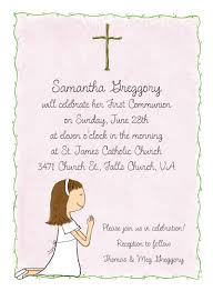 communion invitations girl s communion invitations by adele